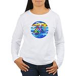 Sea Turtle #8 Women's Long Sleeve T-Shirt