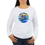 Sea Turtle #8 Women's Long Sleeve T-Shirt