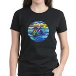 Sea Turtle #8 Women's Dark T-Shirt