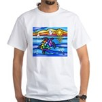 Sea Turtle #8 White T-Shirt