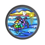 Sea Turtle #8 Wall Clock