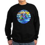 Sea Turtle #8 Sweatshirt (dark)