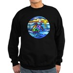 Sea Turtle #8 Sweatshirt (dark)