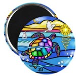 Sea Turtle #8 Magnet