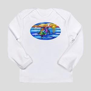 Sea Turtle #8 Long Sleeve Infant T-Shirt