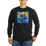 Sea Turtle #8 Long Sleeve Dark T-Shirt