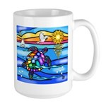Sea Turtle #8 Large Mug