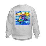 Sea Turtle #8 Kids Sweatshirt