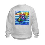 Sea Turtle #8 Kids Sweatshirt