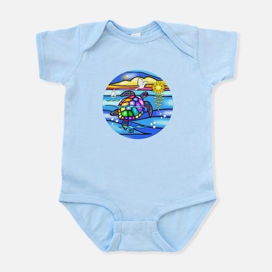 Sea Turtle #8 Infant Bodysuit