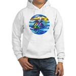 Sea Turtle #8 Hooded Sweatshirt