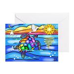 Sea Turtle #8 Greeting Card