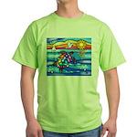 Sea Turtle #8 Green T-Shirt