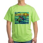 Sea Turtle #8 Green T-Shirt