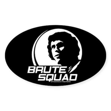 Princess Bride Brute Squad Sticker (Oval)