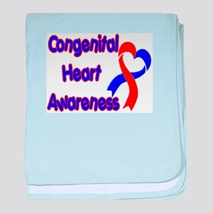 Congenital Heart Defect baby blanket