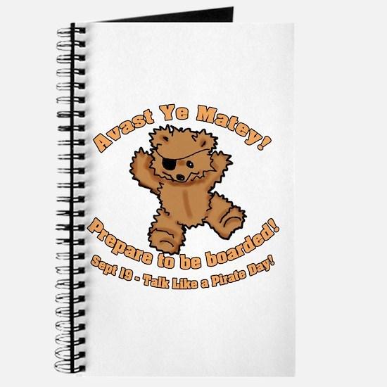 Teddy Bear Pirate Journal