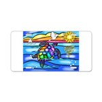 Sea Turtle #8 Aluminum License Plate