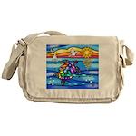 Sea Turtle #8 Messenger Bag