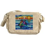Sea Turtle #8 Messenger Bag