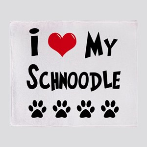 Schnoodle Throw Blanket