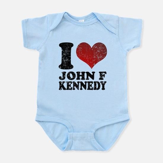 I love John F Kennedy Infant Bodysuit