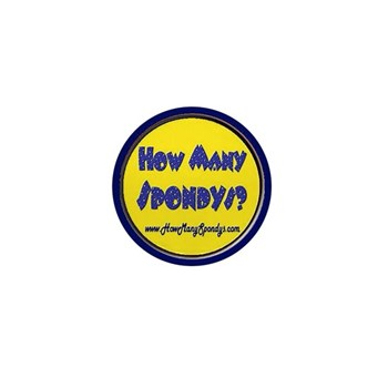 How Many Spondys Mini Button (10 pack)