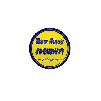 Mini Button - How Many Spondys