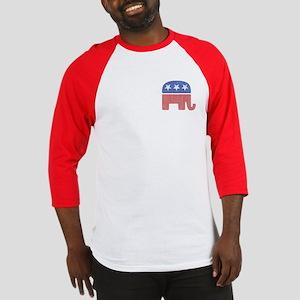 Old Republican Elephant Baseball Jersey