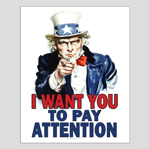 More Uncle Sam Sayings Small Poster
