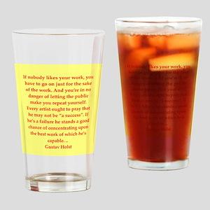 gustav holst Drinking Glass