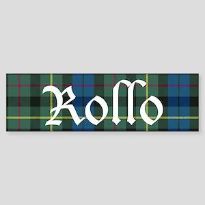 Tartan-Rollo Sticker (Bumper)