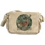 Buck moon Messenger Bag