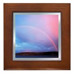 Over the Rainbow Framed Tile