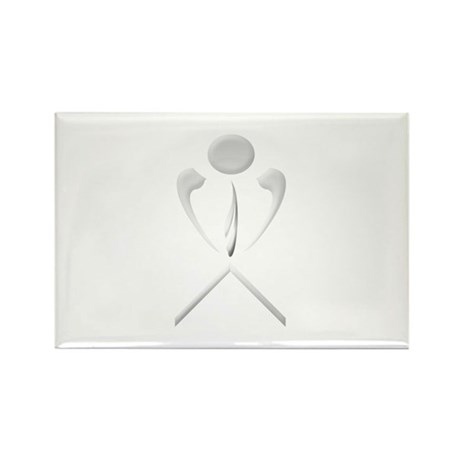 Low Pro Rectangle Magnet (100 pack)