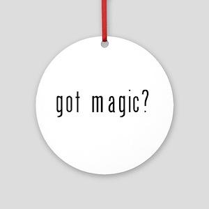 got magic? Ornament (Round)