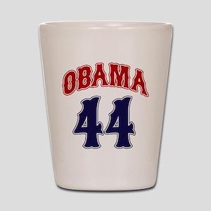 Obama 44 rwb Shot Glass