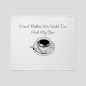 Cup O' Joe Throw Blanket