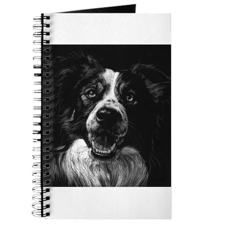 Dramatic Border Collie Journal