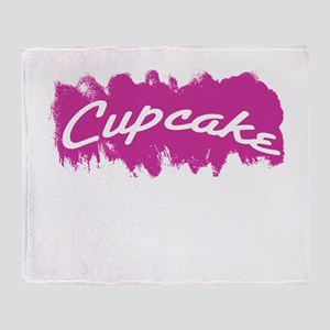 Cupcake Throw Blanket