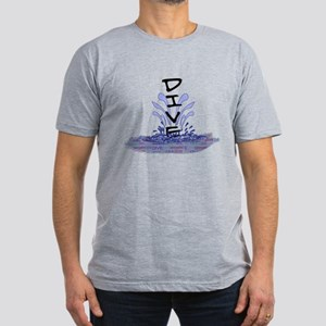 Dive Men's Fitted T-Shirt (dark)