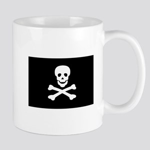 Black Pirate Flag Mug