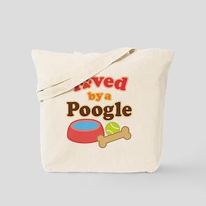 Poogle Dog Gift Tote Bag