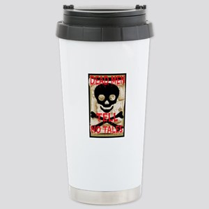 Dead Men Tell No Tales Stainless Steel Travel Mug