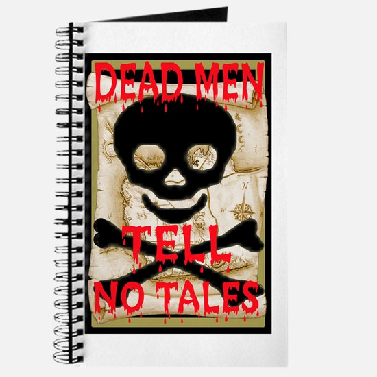 Dead Men Tell No Tales Journal