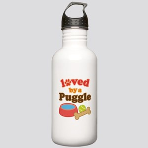 Puggle Dog Gift Stainless Water Bottle 1.0L