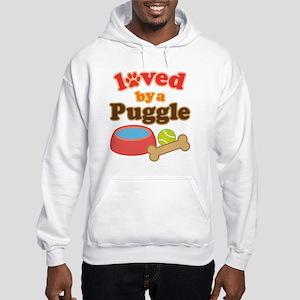 Puggle Dog Gift Hooded Sweatshirt