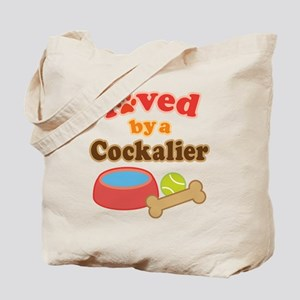 Cockalier Dog Gift Tote Bag