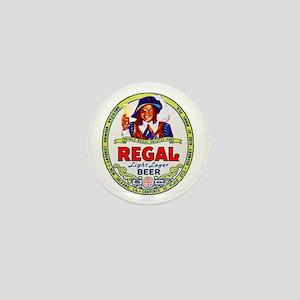 Louisiana Beer Label 1 Mini Button