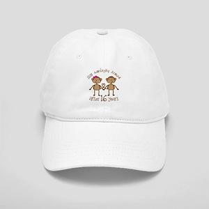 16th Anniversary Love Monkeys Gift Cap